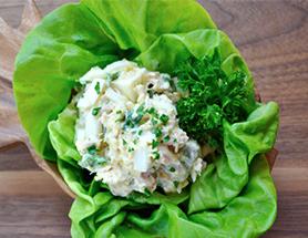 Pickled Egg & Tuna Salad